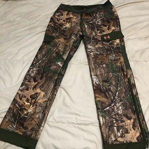 Pink and Camo Long Hunting Pants